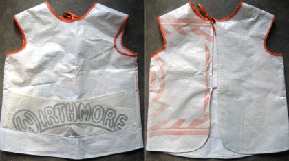 child's feedsack Apron